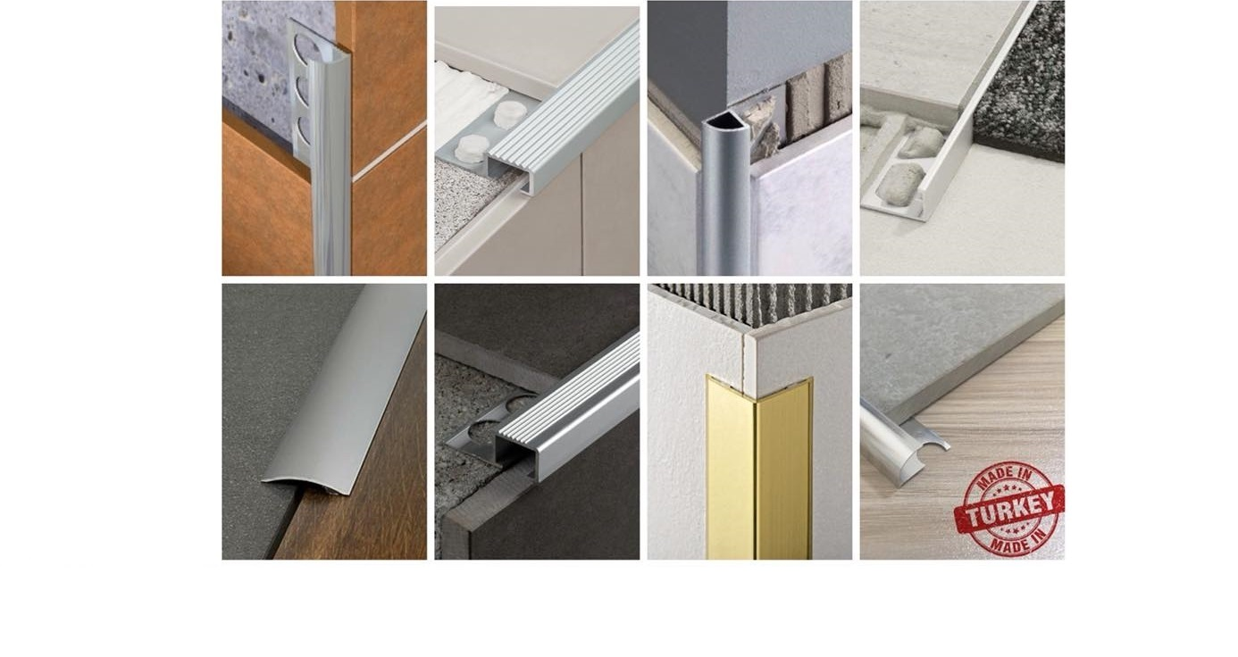 AluminiumPark | Aluminium Tile Trims - Tile Edge trim