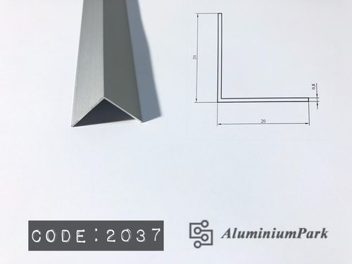 Aluminium Corner Protection Profile