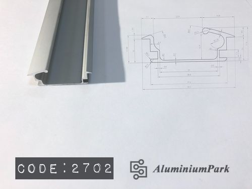Aluminium Furniture Handle Profile