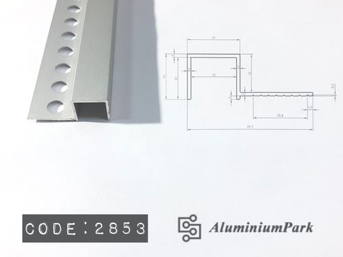 Aluminium profile for Stairs