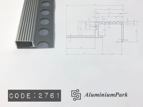 Aluminium Stair Step profile