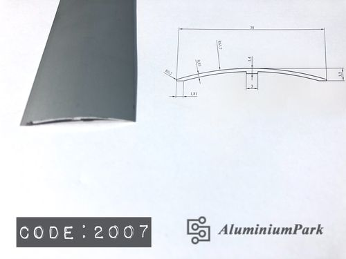 Aluminium Threshold Connection Profile