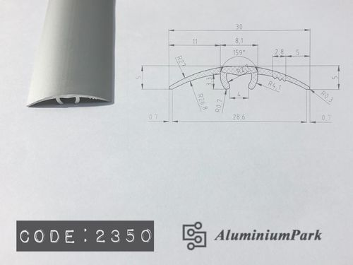 Aluminium Threshold Profiles