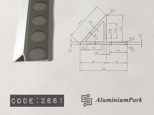 Aluminium Transition Flooring Profiles