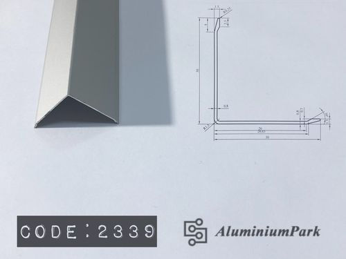 Aluminium Wall Corner Guard Profile