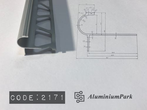 Aluminum C - Step Trim