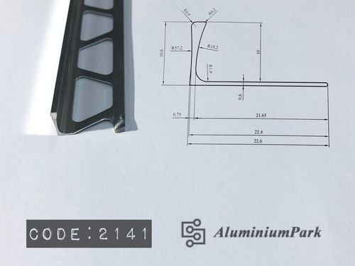 L-Shaped Aluminum Trim